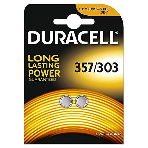 Duracell D357 Cell Batterie 357/303