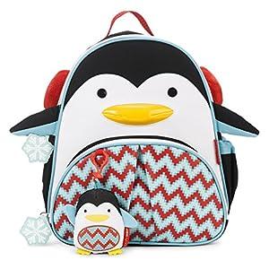 Skip Hop Zoo Winter Backpack & Plush Set Backpack Penguin One Size