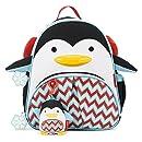 Skip Hop Zoo Winter Backpack and Plush Set Backpack, Penguin