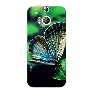 Mobile Back Cover For HTC Desire One M8 dual sim (Printed Designer Case)