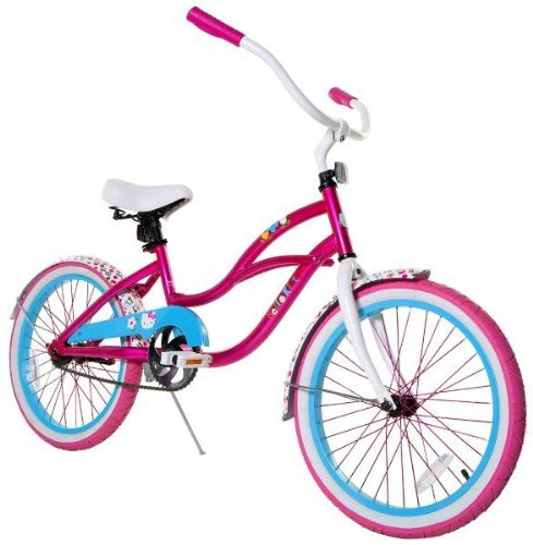 Cruiser Bikes For Girls 20 Inches Hello Kitty Girl s Cruiser