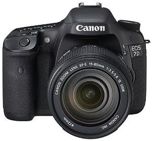 Canon EOS 7D Appareil photo numérique Reflex 18 Mpix Kit Objectif 18-135mm IS Noir