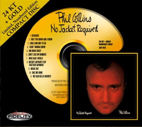 Phil Collins - No  jacket required - Zortam Music