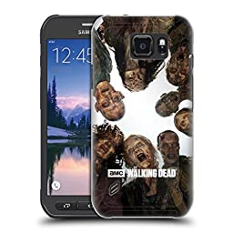 Official AMC The Walking Dead Walker Group Walkers And Characters Hard Back Case for Samsung Galaxy S6 active