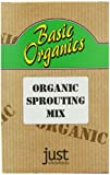 Just Wholefoods Organic Sprouting Mix 250 g (Pack of 6)