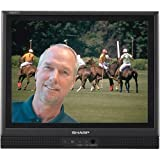 Sharp Aquos LC-13S1UB 13-Inch Flat-Panel LCD TV, Black