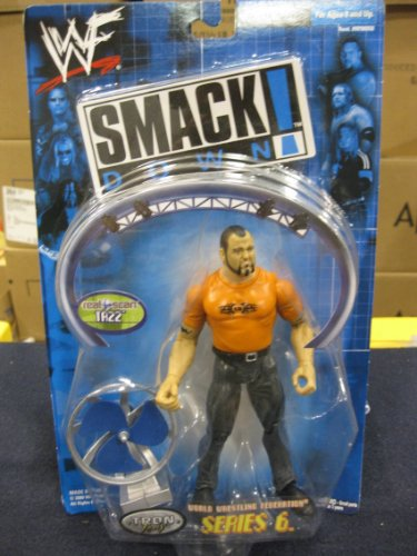 "WWF Smack Down! ""Tazz"" Series 6 Tron Ready"