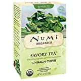 Numi Spinach Chive Savoury Tea 12 Bags