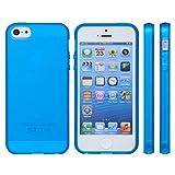 【iphone5/iphone5s対応】mtmd decolor tpuハードシリコン iphone5/5sケース (全16種類)さらさらタイプ/マリンブルー