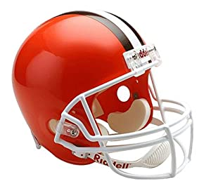 Riddell Cleveland Browns Deluxe Replica Football Helmet by Riddell