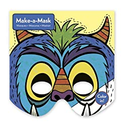 Mudpuppy Pr Monsters Make-A-Mask