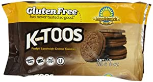 Kinnitoos Cookie - Fudge Cream Sandwich Gluten Free, 8-Ounce (Pack of 3)