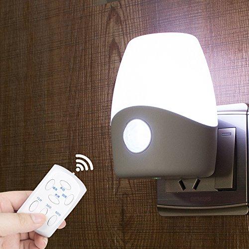 Yifom telecomando ad infrarossi controllati di notte a casa di luce a risparmio energetico illuminazione ad induzione,luce biancaRegali regalo di Natale di compleanno