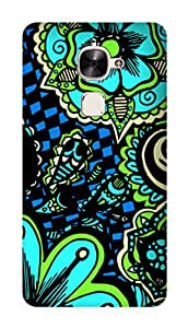 SWAG my CASE PRINTED BACK COVER FOR LEECO LE MAX 2 Multicolor