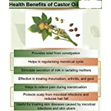 Ambrosial Castor Seed Oil 100% Pure Organic Natural Cold Pressed (500ML)