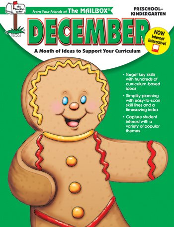Monthly Idea Book Dec. Gr Prek-K - 1