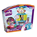 Polly Pocket Magic Fashion Stage Childrens Christmas Gift Includes Doll+Clothes