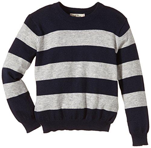 LTB Jeans Jungen Pullover Rawen^ Gestreift^ Gr. 176^ Mehrfarbig (Nata Navy Stripes 6458)
