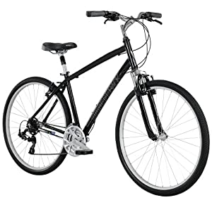 Diamondback Bicycles 2014 Edgewood Men's Sport Hybrid Bike (700cm Wheels), 21-Inch, Black