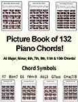 Picture Book Of 132 Piano Chords! (Su...