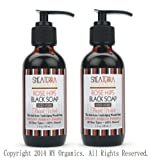 Rose Hips Black Soap Deep Pore Facial Wash- 2in1 pack