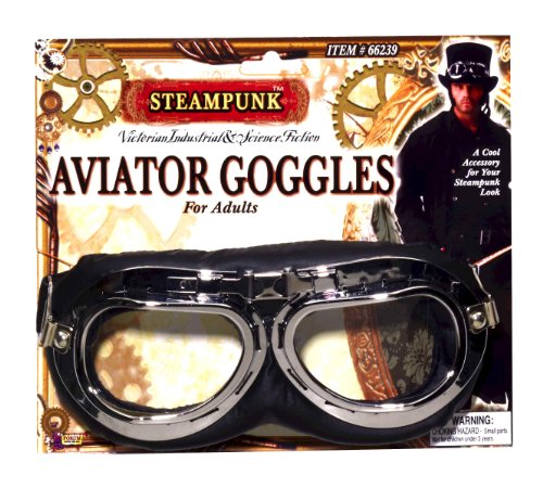 Steampunk Victorian Aviator Goggles