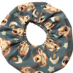 Critter Cuddler Small Animal Carrier and Bonding Pouch Anti-anxiety Interactive Play Exercise Ring Therapeutic for Both Pet & Handler Small Dog Cat Soft-sided Carrier Sling (OWLS)