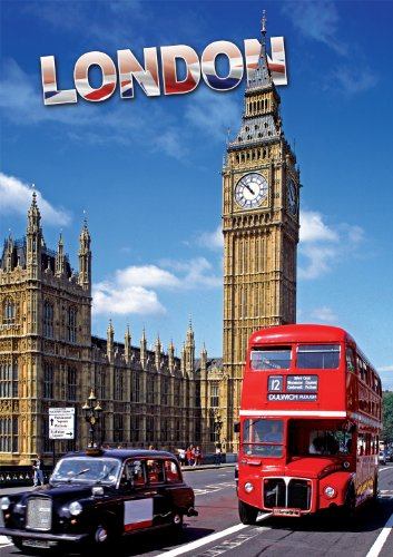 Buffalo Games Large Piece Travel, London - 300pc Jigsaw Puzzle - 1