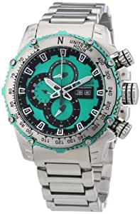 Nautec No Limit Herren-Armbanduhr XL D2X Chronograph Quarz Edelstahl DT QZ/STSTSTGR-GR