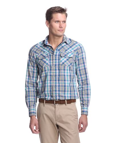 Fresh Men's Long Sleeve Check Shirt
