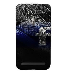 PrintVisa Butterfly Facebook 3D Hard Polycarbonate Designer Back Case Cover for Asus Zenfone 2 Laser ZE550KL