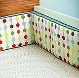 Skip Hop Mod Dot Bedding Printed Sheet, Pin Dot