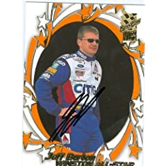 Jeff Burton Autographed Hand Signed Trading Card (Auto Racing) 2002 Press Pass VIP... by Hall of Fame Memorabilia