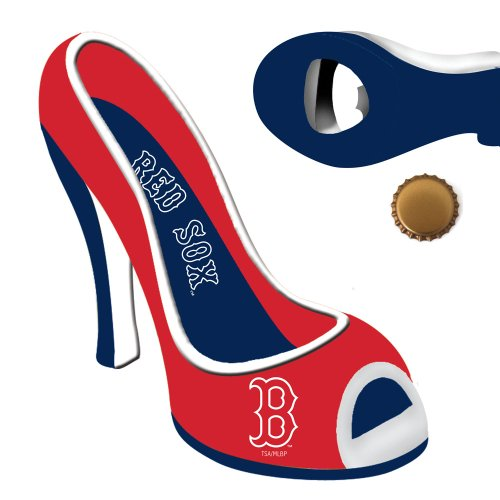 Boston Red Sox High Heel Shoe Bottle Opener (Stiletto Bottle Opener compare prices)