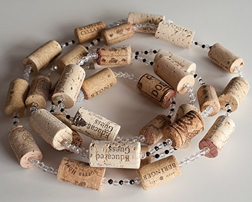 Christmas Garland, Wine Garland, Wine Cork Garland