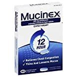 Mucinex Expectorant, 12 Hour, 600 mg, Extended-Release Bi-Layer Tablets, 40 tablets