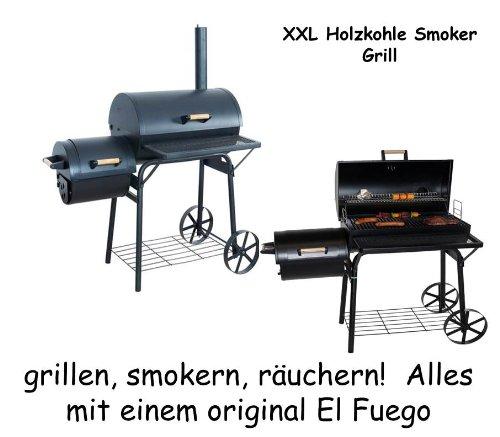 XXL Smoker Grill 122 x 133 x 66 cm online kaufen