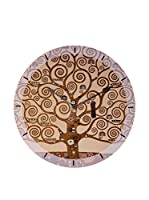Artopweb Reloj De Pared Klimt The Tree Of Life