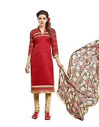 Rudraksh Fashion Cotton Dress Material