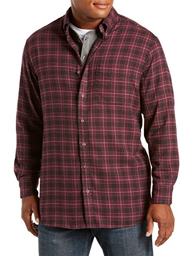 Harbor Bay Big & Tall Plaid Flannel Shirt