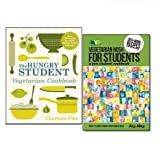 Charlotte Pike Vegetarian Cookbook for Students 2 Books Collection Set, (Vegetarian Nosh for Students: A Fun Student Cookbook and The Hungry Student Vegetarian Cookbook)