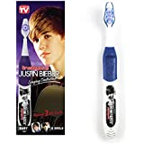 Justin Bieber Singing Toothbrush Brush Buddies BABY & U SMILE Music Kids New !