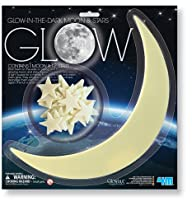4M Glow-In-The-Dark Moon and Stars -…