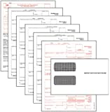 TOPS 1099 Miscellaneous Income Tax Forms Kit, White, 24 Forms, 24 Envelopes, and 1 Form 1096 (22905KIT)