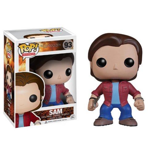 Funko POP Television: Supernatural Sam Action