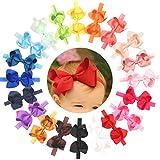 Baby Girls Headbands Grosgrain Ribbon 4.5