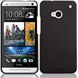 KAYSCASE Slim Hard Shell Cover Case for the new HTC One (M7) Smart Phone (Black)