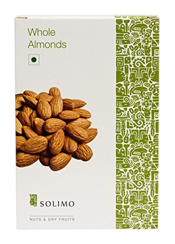 Solimo Premium Almonds, 1kg By Amazon @ Rs.1,065