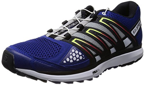Salomon X-Scream, Scarpe sportive, Uomo, Multicolore (G Blue/White/Black), 45.33