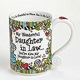 Suzy Toronto Daughter In Law I'm So Grateful Mug